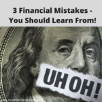 3 Financial Mistakes